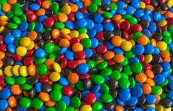 Colourful czekoladowy cukierek Fotografia Stock