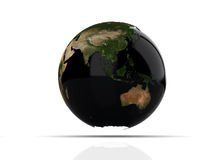 A Colourful 3d Rendered Earth Stock Photo