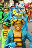 Dancers in a fiesta in Cartagena, Colombia Royalty Free Stock Image