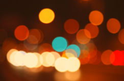 Colourful defocused lights useful as a background. Royalty Free Stock Image