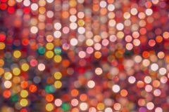 Colourful Defocussed Lights stock photos