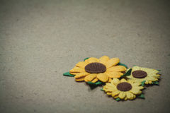 Colourful del fiore artificiale immagine stock libera da diritti