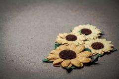 Colourful del fiore artificiale Fotografia Stock Libera da Diritti