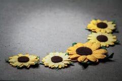 Colourful del fiore artificiale Fotografia Stock