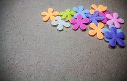 Colourful del fiore artificiale fotografie stock libere da diritti