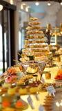 Colourful deserowy bufet Zdjęcie Royalty Free