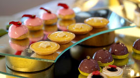 Colourful deserowy bufet Zdjęcia Stock