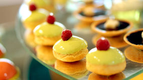 Colourful dessert buffet Royalty Free Stock Photography