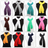 Colourful display of scarves Royalty Free Stock Photo