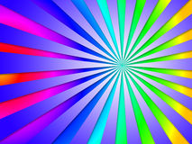 Colourful Dizzy Striped Tunnel Background Means Dizzy Abstractio Royalty Free Stock Photo