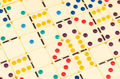 Colourful dominoes Royalty Free Stock Photography