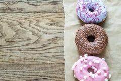 Colourful Donuts Fotografia Stock