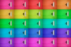 Colourful Door Background Stock Photos