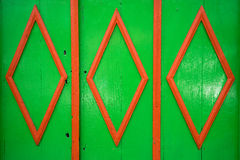 Colourful door closeup details. Colourful colonial style door in Salento Colombia Stock Image