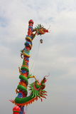 Colourful dragons Stock Images