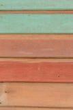Colourful drewnianego panelu tła tekstury tapetowy wzór Fotografia Royalty Free