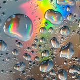 Colourful Drops Stock Images