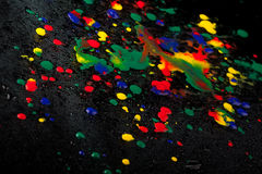 Colourful drops Royalty Free Stock Images