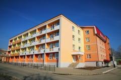 Colourful dwelling house Stock Photos