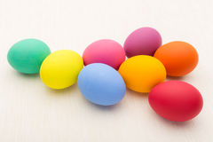 Colourful easter egg Stock Photo