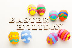 Colourful easter egg Royalty Free Stock Image