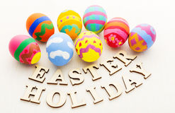 Colourful easter egg Stock Image