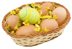 Colourful Easter Eggs Royalty Free Stock Photos