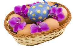 Colourful Easter Eggs Stock Images