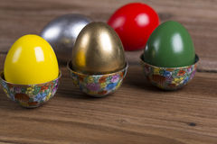 Colourful Easter eggs Royalty Free Stock Photo