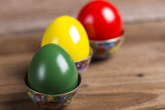 Colourful Easter eggs Stock Photography