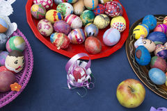 Colourful Easter eggs Royalty Free Stock Image