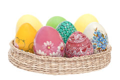 Colourful eggs Royalty Free Stock Images