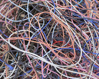Colourful elastic band Royalty Free Stock Photography