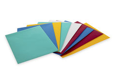 Colourful Envelopes Stock Photo