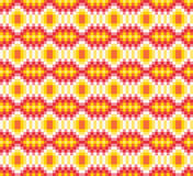 Colourful ethnic ornamental patterns Mexican, Seamless vector pattern Royalty Free Stock Photo