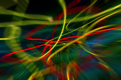 Colourful  blur. A blur of colored lines Royalty Free Stock Image