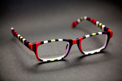 Colourful eyeglass frame Royalty Free Stock Image