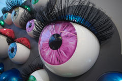 Colourful eyes Royalty Free Stock Photography