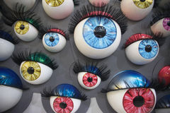 Colourful eyes Stock Images