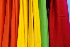 Colourful fabric Stock Photos
