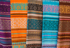 Colourful fabric Royalty Free Stock Photo