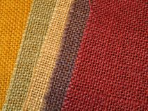 Colourful fabric textile background Royalty Free Stock Photography