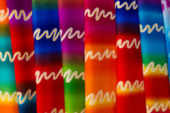 Colourful fabric texture Stock Images