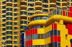 Colourful facade Stock Image