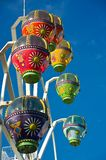 Colourful ferris wheel Stock Photo