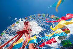 Colourful Ferris Wheel Royalty Free Stock Photography