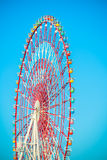 A colourful ferris wheel Stock Photos