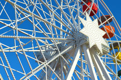 Colourful Ferris Wheel in Barcelona Royalty Free Stock Images