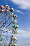 Colourful Ferris Wheel, Skegness, Lincolnshire, UK Stock Photography