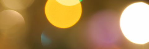 Colourful festive multi-colored circles . Defocused abstract multicolored bokeh lights background stock photography